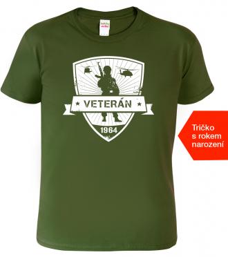 Tričko k narozeninám pro vojáka
