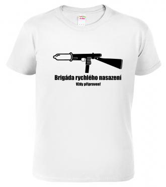 Vojenské tričko - Vždy připraven