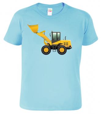 Dětské tričko s bagrem