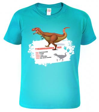 Dětské tričko s dinosaurem - Tyrannosaurus Rex