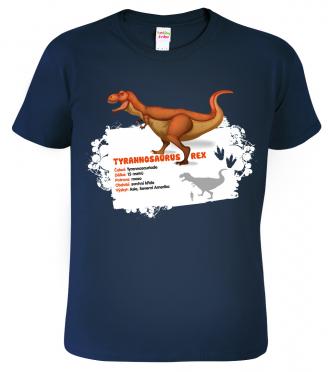 Tričko s dinosaurem -  Tyrannosaurus Rex
