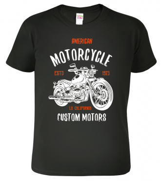 Tričko pro motorkáře s motorkou