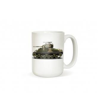 Army hrneček s tankem - Sherman