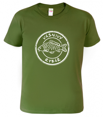 Tričko pro rybáře - Vášnivý rybář