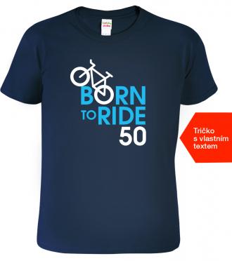 Tričko k narozeninám pro cyklistu