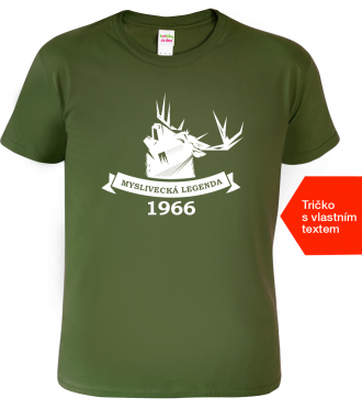 Tričko k narozeninám pro myslivce