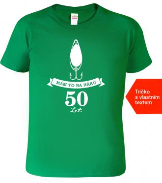 Tričko k narozeninám pro rybáře Kelly