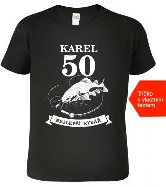 Tričko k narozeninám pro rybáře Royal