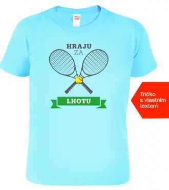 Tenisové tričko Hraju za modre