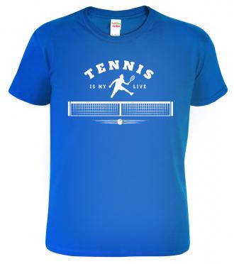 Tričko na tenis Tenis is my live
