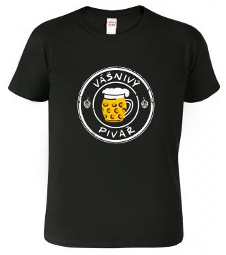 Vtipné tričko pro pivaře.