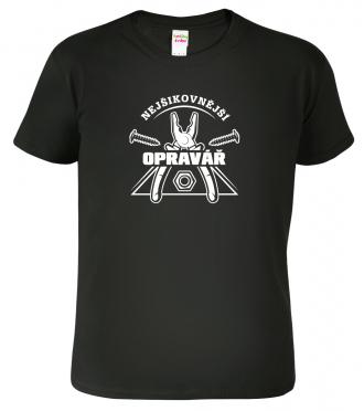 Tričko pro muže Nejšikovnější opravář Black