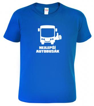 Tričko pro řidiče autobusu Nejlepší autobusák royal
