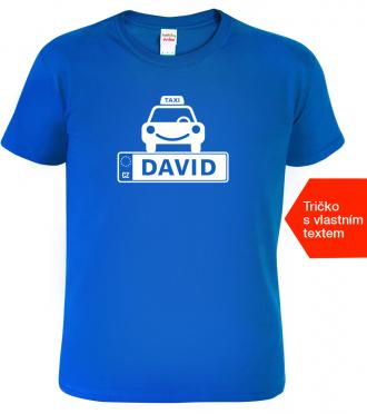 Vyrábíme originální dárek se jménem - Tričko pro taxikáře