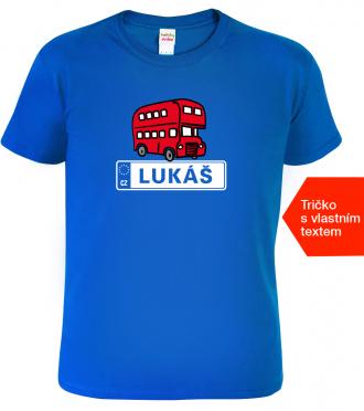 Tričko pro řidiče autobusu Royal Blue