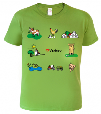 Tričko pro chataře a chalupáře