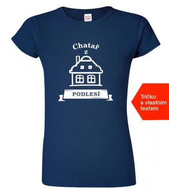 Tričko pro chataře - Chatař z