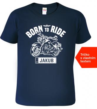 Tričko se jménem pro motorkáře