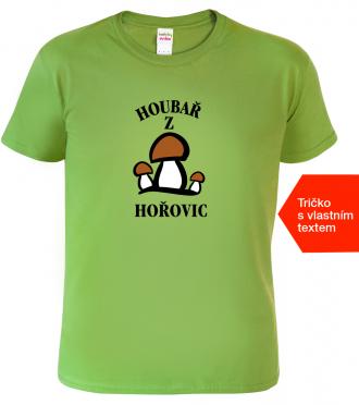 Tričko pro houbaře Houbař1