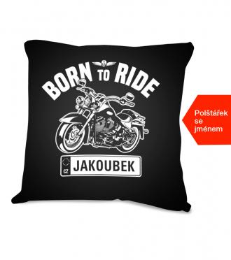 Dárek pro motorkáře - polštářek
