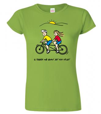 Tričko dámské - Dvojkolo