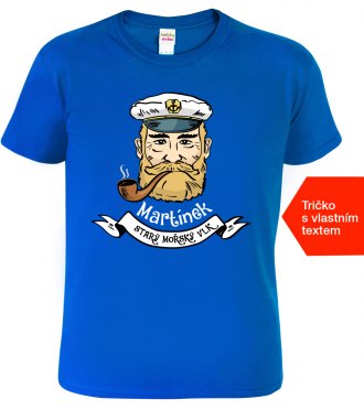 Dětské námořnické tričko se jménem