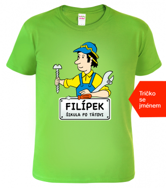 Dětské tričko s vlastním textem