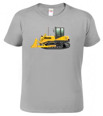 Dětské tričko s bagrem - Buldozer