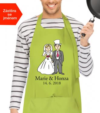Svatební dar pro ženicha a nevěstu