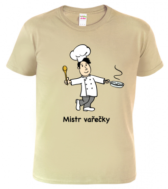 Tričko pro kuchaře - Mistr vařečky
