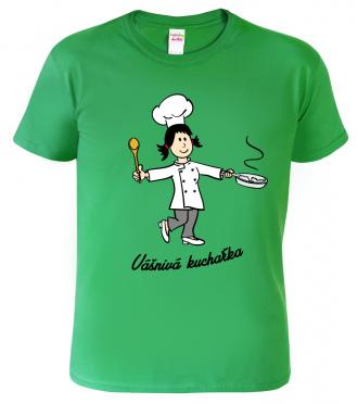 Triko dětské - Vášnivá kuchařka