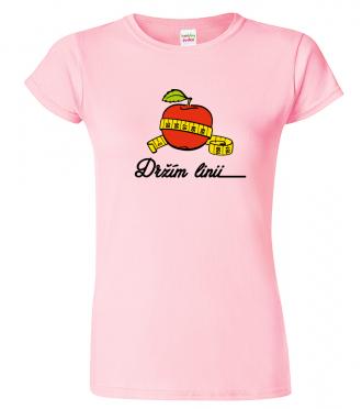 Tričko pro kuchařku - Držím linii