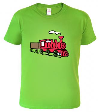 dětské tričko vlak