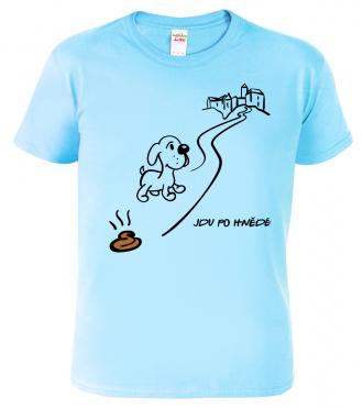 Tričko pro výletníka - Jdu po hnědé