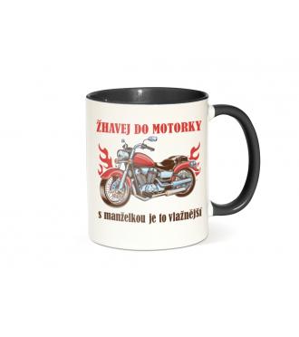 Hrnek s motorkou - Žhavej do motorky