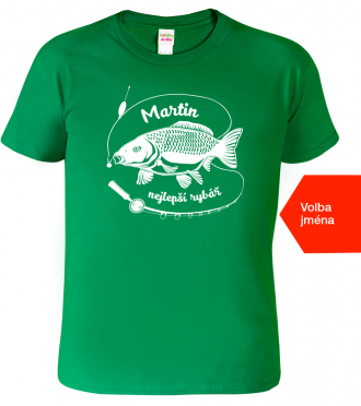 Trička pro rybáře