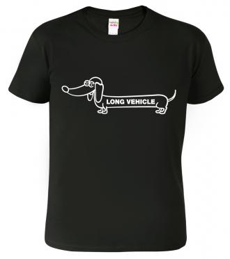 Vtipné tričko s jezevčíkem
