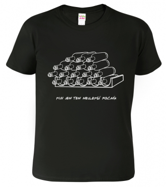 Tričko s vtipným nápisem