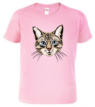 Dětské tričko s kočkou - Modroočka