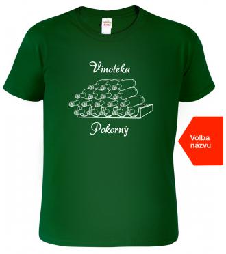 Firemní tričko pro vinaře