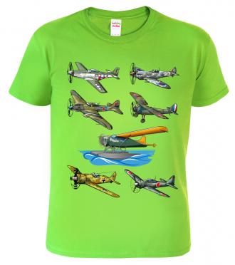 Chlapecké tričko s letadlem