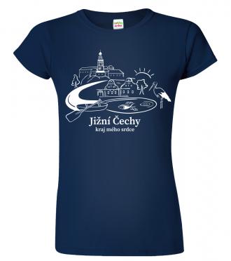 Dámské tričko Jižní Čechy