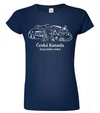 Tričko Česká Kanada