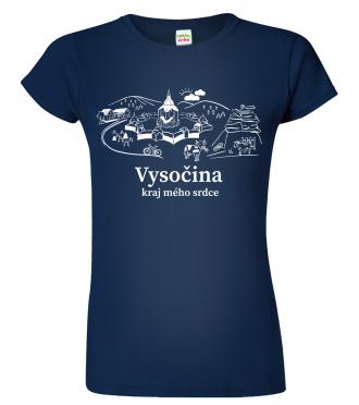 Tričko Českomoravská vysočina