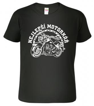 Motorkářské tričko - Nejlepší motorkář