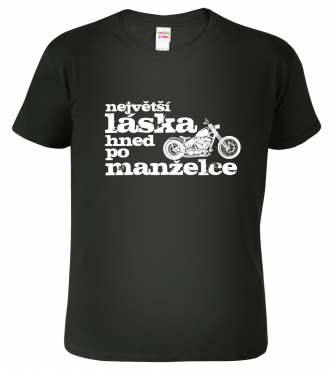 Motorkářské tričko - tričko pro motorkáře