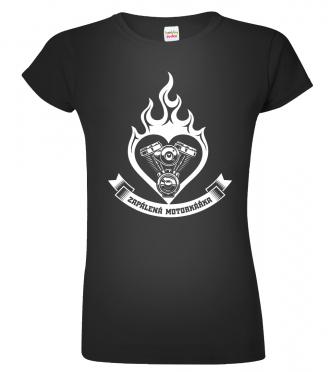 dámská motorkářská trička