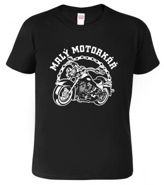 Dětské motorkářské tričko - Malý motorkář
