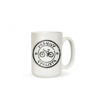 Hrnek pro cyklistu - Vášnivý cyklista