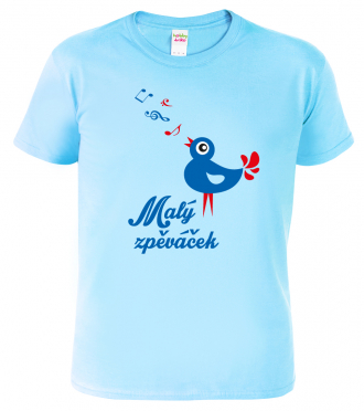 Dětské tričko pro zpěváčka - Malý zpěváček